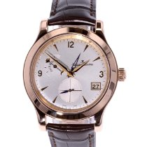 Jaeger-LeCoultre Master Hometime Rose gold 40mm Silver Arabic numerals