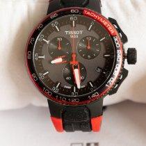 Tissot T-Race Cycling Acero 45mm Negro