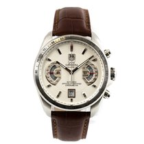 TAG Heuer pre-owned Automatic 44mm Silver Sapphire crystal 10 ATM