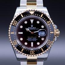 Rolex Sea-Dweller Gold/Steel 43mm Black No numerals United Kingdom, Scarborough