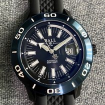 Ball Fireman pre-owned 42mm Black Date Rubber