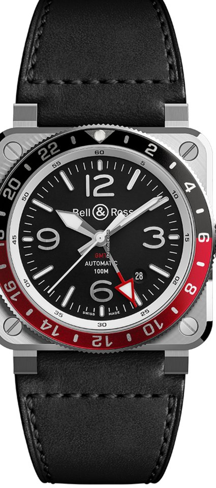 Bell & Ross BR 03-92 Steel BR0393-BL-ST/SCA 2021 new