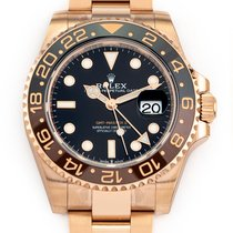 Rolex GMT-Master II 126715CHNR New Rose gold 40mm Automatic