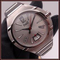 Piaget Polo FortyFive Titanium 45mm Silver Arabic numerals