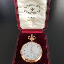 Vacheron Constantin Yellow gold Manual winding White Arabic numerals 50mm pre-owned