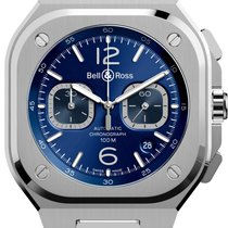 Bell & Ross BR 05 Steel 42mm Blue Arabic numerals United States of America, Texas, Houston