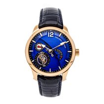 Greubel Forsey Rose gold 43.5mm Manual winding TOUR 24 CONT BLU pre-owned United States of America, Pennsylvania, Bala Cynwyd