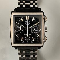 TAG Heuer Monaco Steel 38mm Black No numerals United States of America, California, Upland