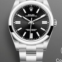 Rolex Oyster Perpetual Steel 41mm Black No numerals United States of America, New Jersey, Oakhurst