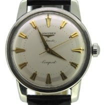 Longines Steel 35mm Automatic 9000-16 pre-owned Australia