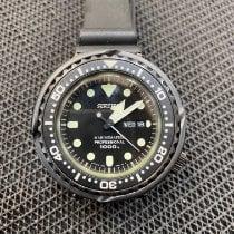 Seiko Marinemaster Titanium 49.4mm Black No numerals