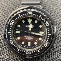 Seiko Marinemaster Titanium 52.4mm Black No numerals