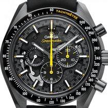 Omega Keramik Handaufzug Schwarz 44.2mm neu Speedmaster Professional Moonwatch