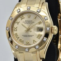 Rolex Lady-Datejust Pearlmaster Or jaune 29mm Belgique, KNOKKE-LE-ZOUTE