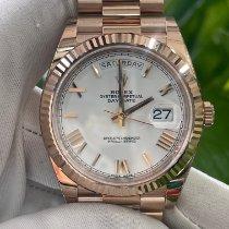 勞力士 Day-Date 40 新的 自動發條 附正版包裝盒和原版文件的手錶 228235