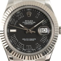 Rolex Datejust II Gold/Steel 41mm Black