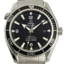 Omega Seamaster Planet Ocean Сталь 42mm Черный