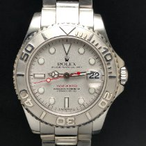 Rolex Steel Automatic 35mm pre-owned Yacht-Master