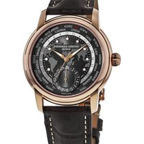 Frederique Constant Manufacture Worldtimer United States of America, New York, Brooklyn