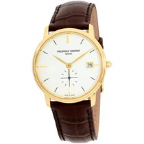 Frederique Constant Slimline Gents Steel 37mm Silver United States of America, New Jersey, Somerset