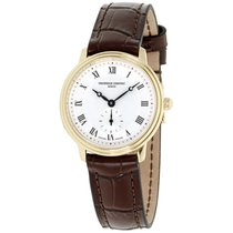 Frederique Constant Slimline Mid Size Gold/Steel 28.6mm Silver Roman numerals United States of America, New Jersey, Somerset