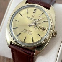 Omega Yellow gold Automatic Gold 35mm pre-owned Constellation