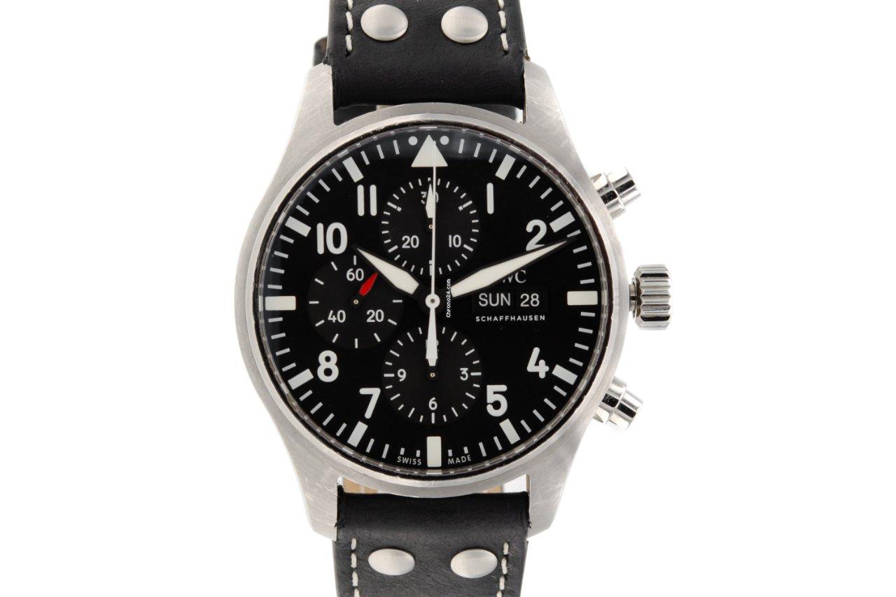 IWC Pilot Chronograph IW377709 2016 подержанные