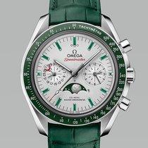 Omega Platinum Automatic Grey No numerals 44.25mm new