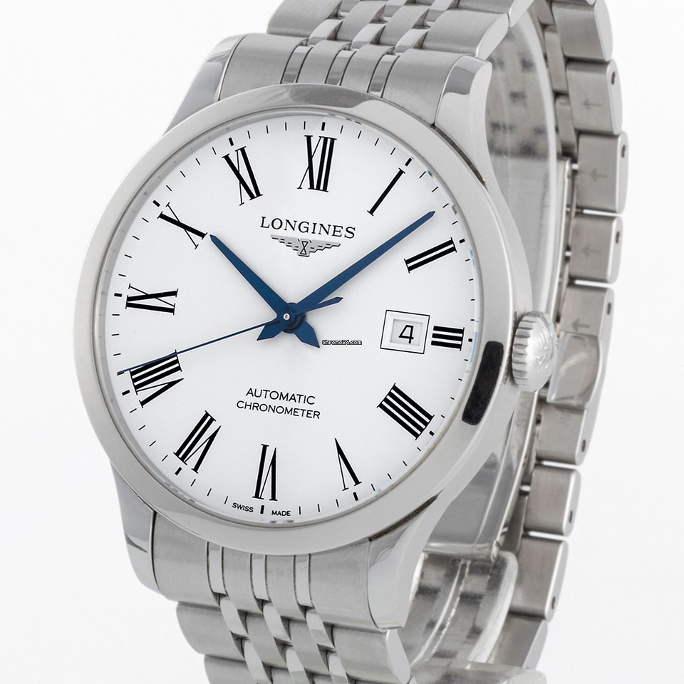 Longines Record L2.820.4.11.6 2015 pre-owned