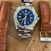 Breitling Avenger II GMT Steel 43mm Blue No numerals United States of America, Texas, Baton Rouge