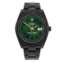 Rolex Datejust II Сталь 41mm Зеленый