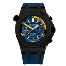 Audemars Piguet Royal Oak Offshore Diver Chronograph Acero 42mm Azul