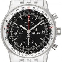 Breitling Navitimer Heritage neu 2021 Automatik Chronograph Uhr mit Original-Box und Original-Papieren A13324121B1A1