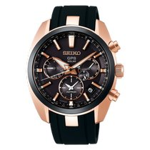 Seiko Astron GPS Solar Steel 42.7mm Black United States of America, Ohio, USA