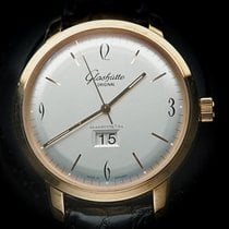 Glashütte Original Rose gold Automatic Silver pre-owned Sixties Panorama Date