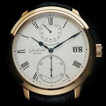 Glashütte Original Senator Chronometer Rose gold 42mm Silver