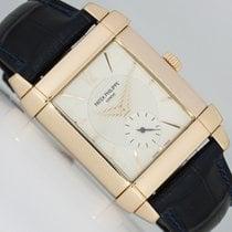 Patek Philippe Gondolo Pозовое золото 31,5mm Cеребро