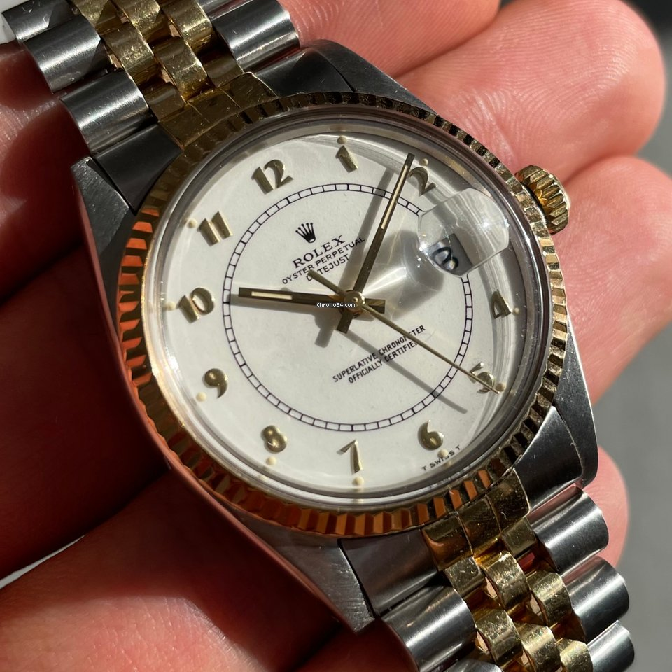 Rolex Datejust 16013 Stella Type Dial 1984 pre-owned
