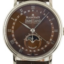 Blancpain Or blanc 37.5mm Remontage automatique 6263 occasion