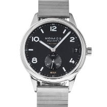 NOMOS Club Neomatik Steel 42mm Black Arabic numerals United States of America, Maryland, Baltimore, MD