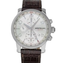 Montblanc Timewalker Steel 43mm Silver Arabic numerals United States of America, Maryland, Baltimore, MD