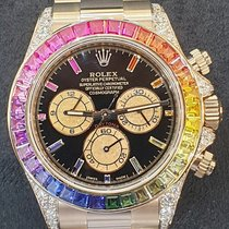 Rolex Daytona Rose gold Black No numerals UAE, Dubai