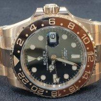 Rolex GMT-Master II Rose gold Black No numerals UAE, Dubai