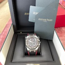 Audemars Piguet Steel Automatic Black Arabic numerals 42mm new Royal Oak Offshore Chronograph