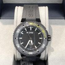 Oris Titanium Automatic Black No numerals 49.5mm new Aquis Date