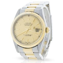 Rolex 16233 Gold/Steel 2001 Datejust 36mm pre-owned United Kingdom, London