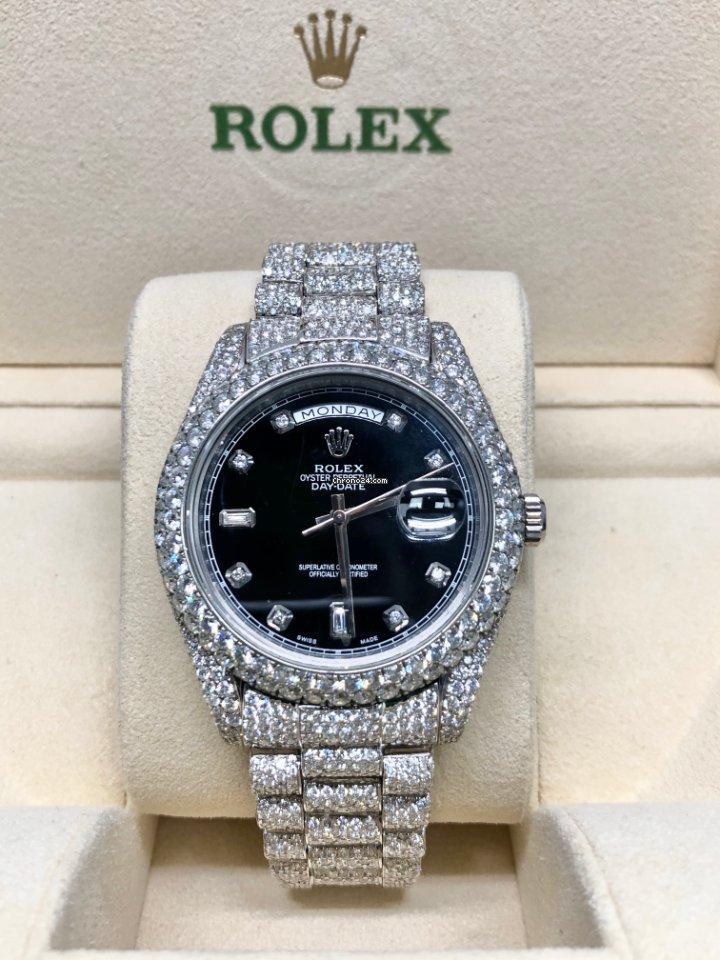 Rolex (ロレックス) デイデイト II 218349 2014 新品