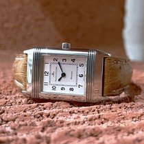 Jaeger-LeCoultre Reverso Lady Steel 19.5mm Silver Arabic numerals
