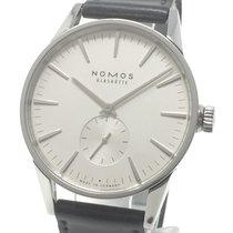 NOMOS Zürich pre-owned 40mm Date Leather