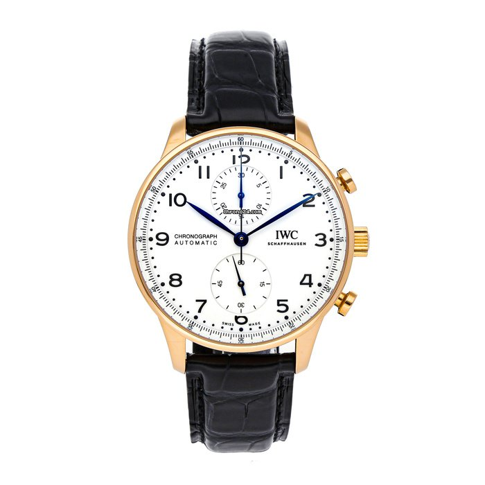 IWC Portuguese Chronograph IW3716-03 pre-owned